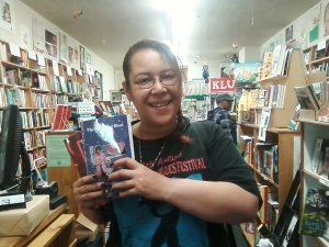 Author Sumiko Saulson at Laurel Bookstore