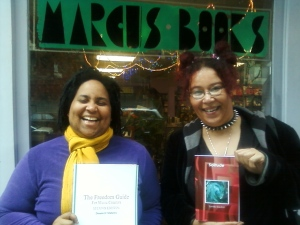 Authors Deeann Mathews and Sumiko Saulson
