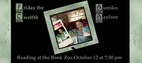Bookzoo Friday October 12, 2012 at 7:30 pm