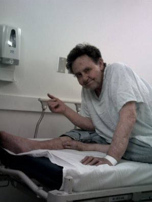 Dad at UCSF Emergency