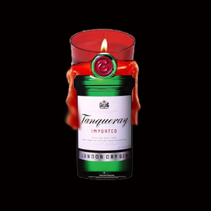 Then my homey Dr. Dre stepped in with a gang of Tanqueray Candles