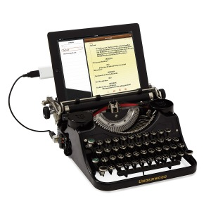 Believe it or not, you don't actually NEED a USB Typewriter.