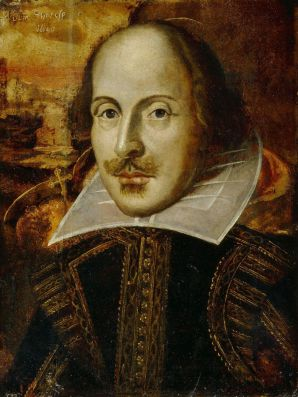 Convinced of his own genius - William Shakespeare