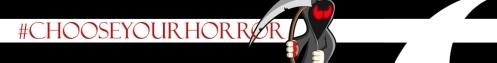 My #chooseyourhorror banner.  Aww... so cute!