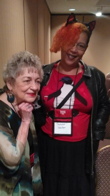 Marge Simon and Sumiko Saulson