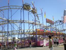 San Mateo County Fair rides