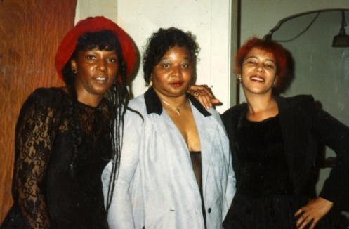 Carolyn Saulson, Yvonne Matthews, Sumiko Saulson