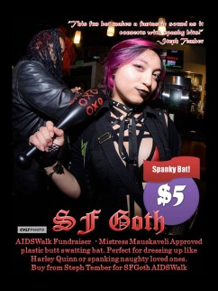 SF Goth Bat Fundraiser 2019